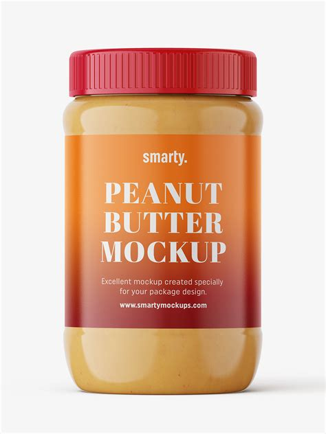 You can just place your designed label on the jar and the mockup is ready to subscribe to get our premium mockup absolutely free. Peanut butter mockup - Smarty Mockups