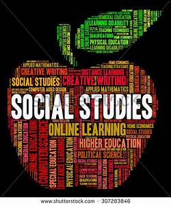 Social Studies Meaning Common Word Words Stock ...