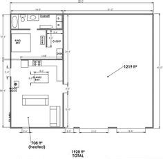 shop with living quarters floor plans 54 x 54 steel building with living quarters the garage