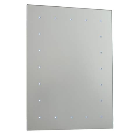 Battery Operated Bathroom Mirrors by Saxby Toba Led Bathroom Mirror Battery Operated Ip44