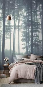 17 best ideas about papier peint paysage on pinterest With couleur moderne pour salon 17 1001 modales de papier peint 3d originaux et modernes