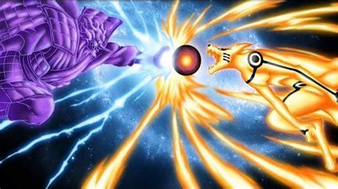 Naruto Vs Sasuke Final Battle Jutsu / Naruto And Sasuke