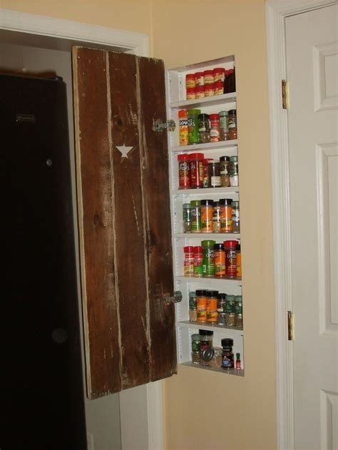 Recessed Spice Rack by 1000 Images About Between The Wall Studs On