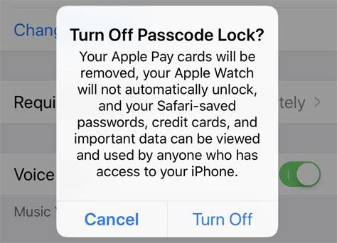 turn passcode on iphone how to encrypt your iphone ios 11 screenshot guide