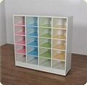 分享兒童開放式彩色鞋櫃,放在教室外教室內都可以 - 南亞塑鋼傢俱專賣店001 - udn部落格