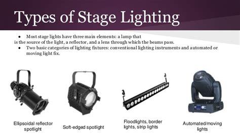 types of stage lights big love