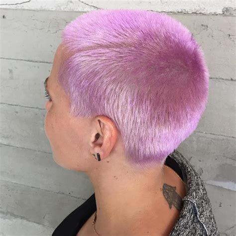 fantastiche pettinature lilla trend capelli