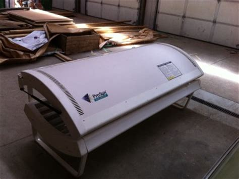 prosun tanning bed prosun solarium 16 model 1600 home tanning bed ebay