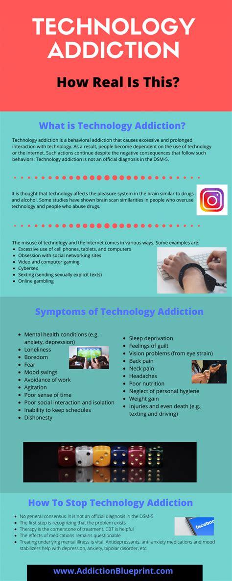 technology addiction  real   addiction blueprint