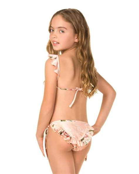 Koharu Carly Girls Bikini By Agua Bendita Kayokoko Swimwear Usa