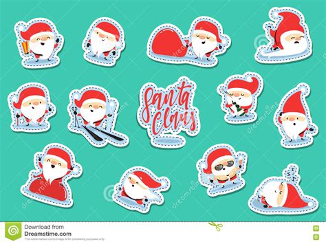 santa claus characters of patch