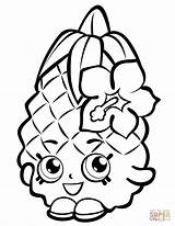 Pineapple Outline Coloring Pages Printable Clipartmag sketch template
