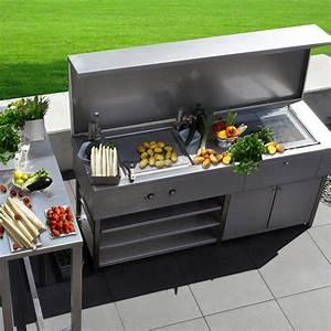 Grill Für Die Küche : edelstahldesign outdoor die outdoork che von l heinen ~ Sanjose-hotels-ca.com Haus und Dekorationen