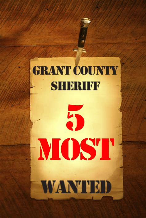 Fugitives  Grant County Sheriff' Office. Most Wanted Poster. Basic Balance Sheet Template. Cover Letter Template Examples. Printable Report Card Template. Caption For Graduation Picture. California High School Graduation Requirements 2017. Income Statement Excel Template. Real Estate Proposal Template