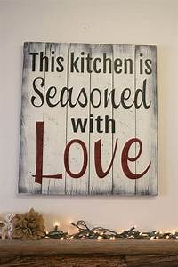 best 25 kitchen wall art ideas on pinterest kitchen With kitchen cabinets lowes with large pallet wall art