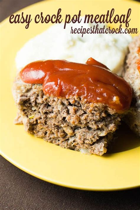 crock pot simple recipes wonderful meatloaf recipe recipes that crock