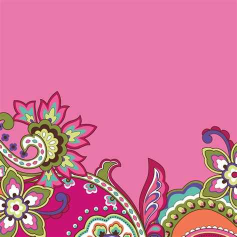 Pink Swirls Tablet Wallpaper