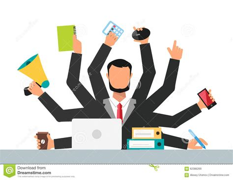 bureau travail types of stress clip images