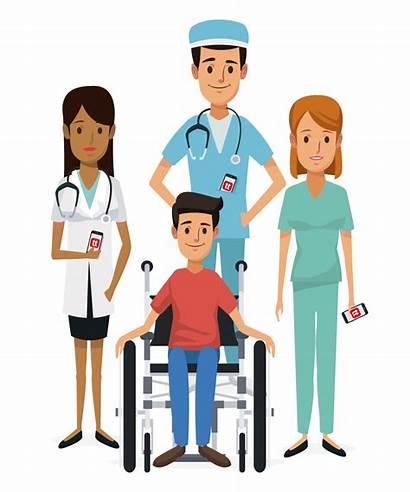 Nurse Clipart Patient Nursing Healthcare Nurses Teamwork