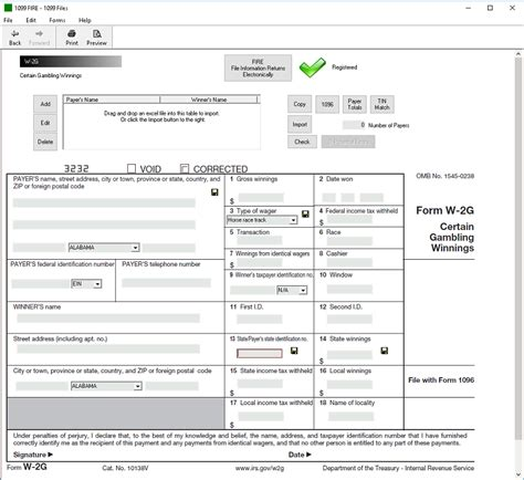 irs form w 2g software 289 efile 449 outsource w 2g