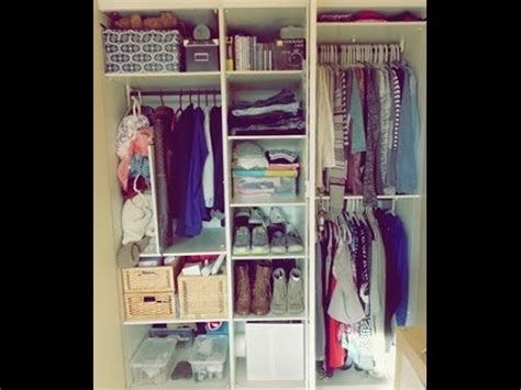 comment ranger ses habits closet tour i comment j organise mes v 234 tements