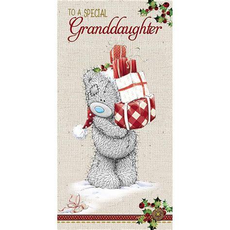 special granddaughter    bear giftmoney wallet