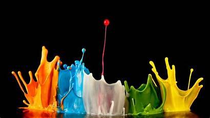 Explosion Colors Paint Splash Wallpapers