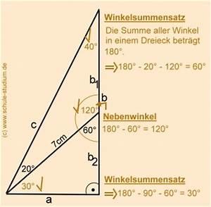 Rechtwinkliges Dreieck Berechnen : sinussatz aufgaben teil 2 bungen mit schritt f r ~ Themetempest.com Abrechnung