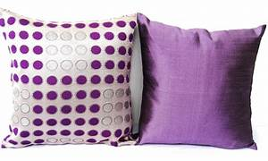 throw pillow set of 2 combo set purple silver throw pillows With amethyst throw pillows