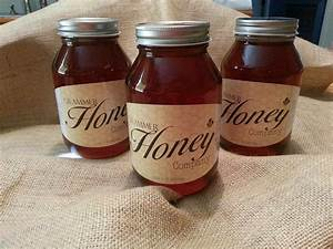 baabaable custom honey labels With custom honey labels stickers