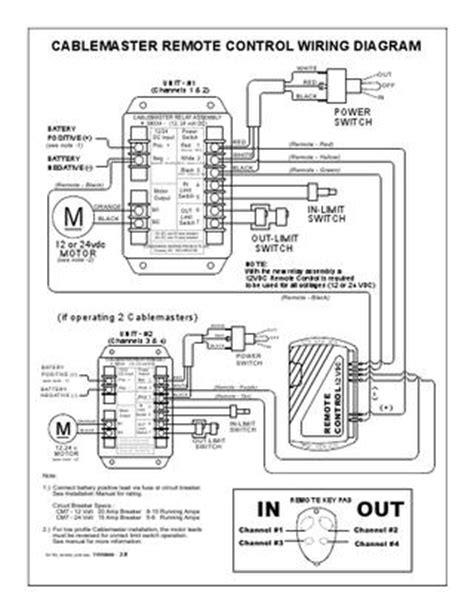Channel Master Wiring Diagram by Cablemaster Cm Remote Control Wiring Diagr By