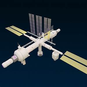 Space Station 3D Model .max - CGTrader.com