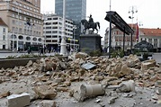 Earthquake Hit Zagreb Amid Partial Coronavirus Lockdown ...