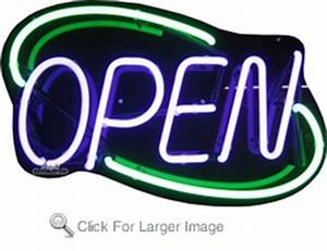 Small Deco Neon Open Sign only $159 99 Neon Open Signs