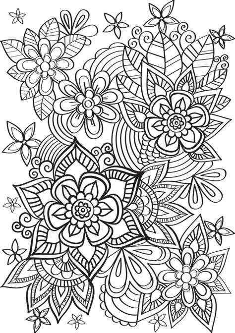 support livre cuisine de jolies fleurs à colorier créapassions