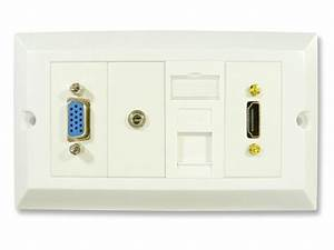 Hdmi And Computer Wall Plate