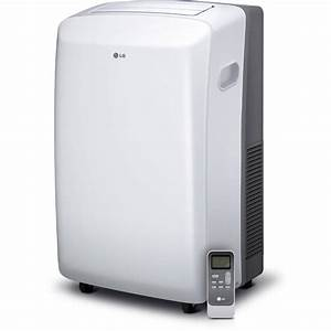 Lg 8 000 Btu Portable Air Conditioner With Remote Control  Window Kit  115v  Factory