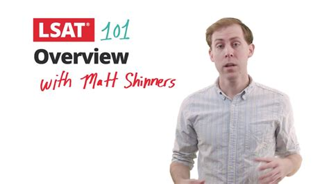 Lsat 101 Pt 1 Intro To The Lsat With Matt Shinners  Manhattan Prep Youtube