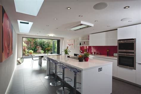 kitchen decorating ideas uk stylish kitchen design in a modern home adelto adelto