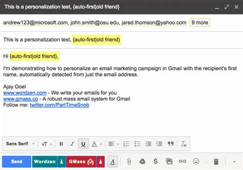email bcc gmail send address gmass mail someone emails person groups recipient process through automatically step contacts needs detection using