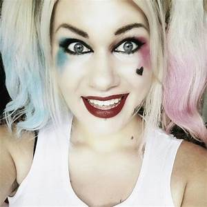 Suicide Squad Harley Quinn · A Makeup Look · Beauty on Cut ...
