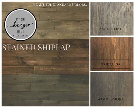 Stained Shiplap by Pre Stained Shiplap Builders Supply