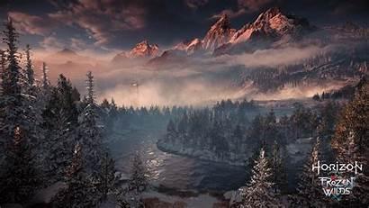 Horizon Zero Dawn Frozen Wilds Ps4wallpapers 4k