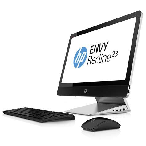 ordinateur de bureau hp i7 hp envy recline 23 k050ef e8t72ea pc de bureau hp sur