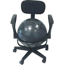 ergonomic chair fit office chair balance fitness workout home ebay