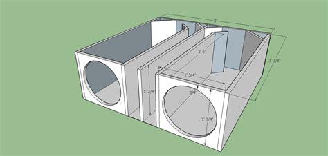 subwoofer box design car audio subwoofer box design diagrams get free image