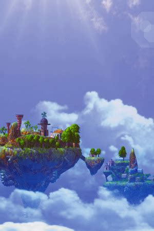 Download Fairy Skyisland Castle Iphone Wallpaper Mobile