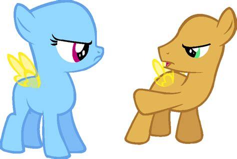 Mlp Pegasus Base- Teasing By Poodlette On Deviantart