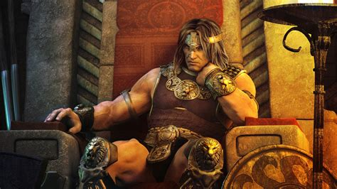 full hd wallpaper barbarian king warrior konan strong