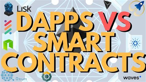 Gli smart contract su blockchain. Blockchain Dapps VS Smart Contracts: What is the Difference? Explained for Dummies in 6 minutes ...